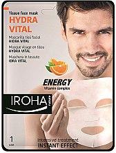 Düfte, Parfümerie und Kosmetik Gesichtsmaske - Iroha Nature Hydra Vital Energy Vitamin Complex Tissue Face Mask