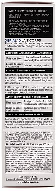 Körpermilch mit Harnstoff für sehr trockene und schuppige Haut - SVR Xerial 10 Lait Corps  — Bild N4