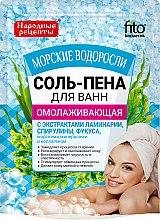 Düfte, Parfümerie und Kosmetik Verjüngendes Badesalz-Schaum mit Algenextrakt - Fitokosmetik