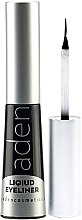 Düfte, Parfümerie und Kosmetik Wasserdichter Eyeliner - Aden Cosmetics Liquid Eyeliner