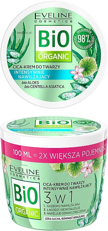 Intensiv feuchtigkeitsspendende Gesichtscreme - Eveline Cosmetics Bio Organic Face Cream