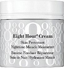 Düfte, Parfümerie und Kosmetik Feuchtigkeitsspendende Nachtcreme - Elizabeth Arden Eight-Hour Cream Skin Protectant Nighttime Miracle Moisturizer