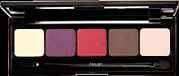 Düfte, Parfümerie und Kosmetik Lidschatten-Palette - Nouba Unconventional Palette Eyeshadow