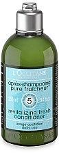 Düfte, Parfümerie und Kosmetik Revitalisierende frische Haarspülung - L'Occitane Aromachologie Revitalising Fresh Conditioner