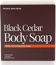Düfte, Parfümerie und Kosmetik Detox-Körperseife mit schwarzer Zeder - Natura Siberica Fresh Spa Russkaja Bania Detox Black Cedar Body Soap
