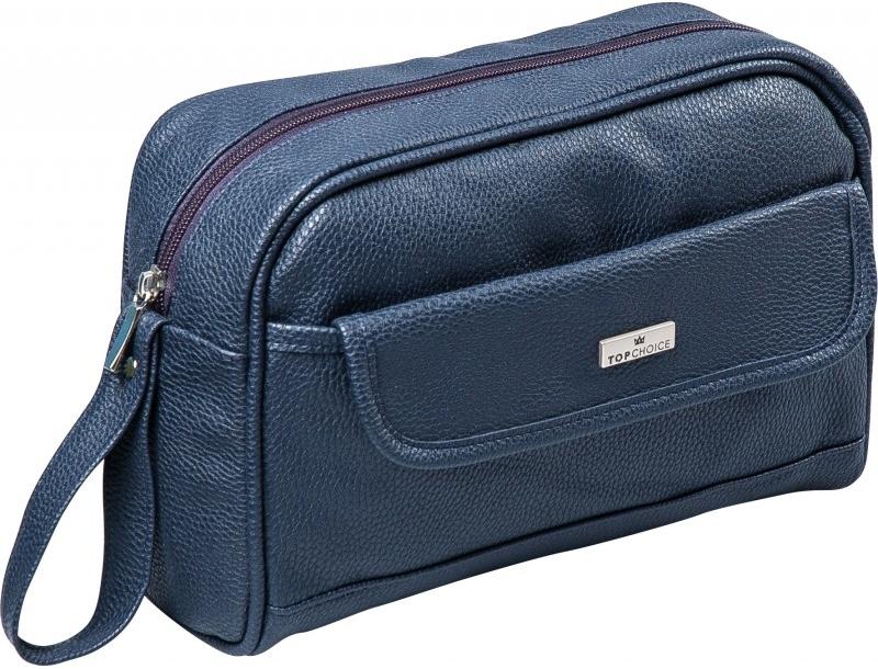 Kosmetiktasche für Männer Eco Premium 97850 blau - Top Choice — Bild N1