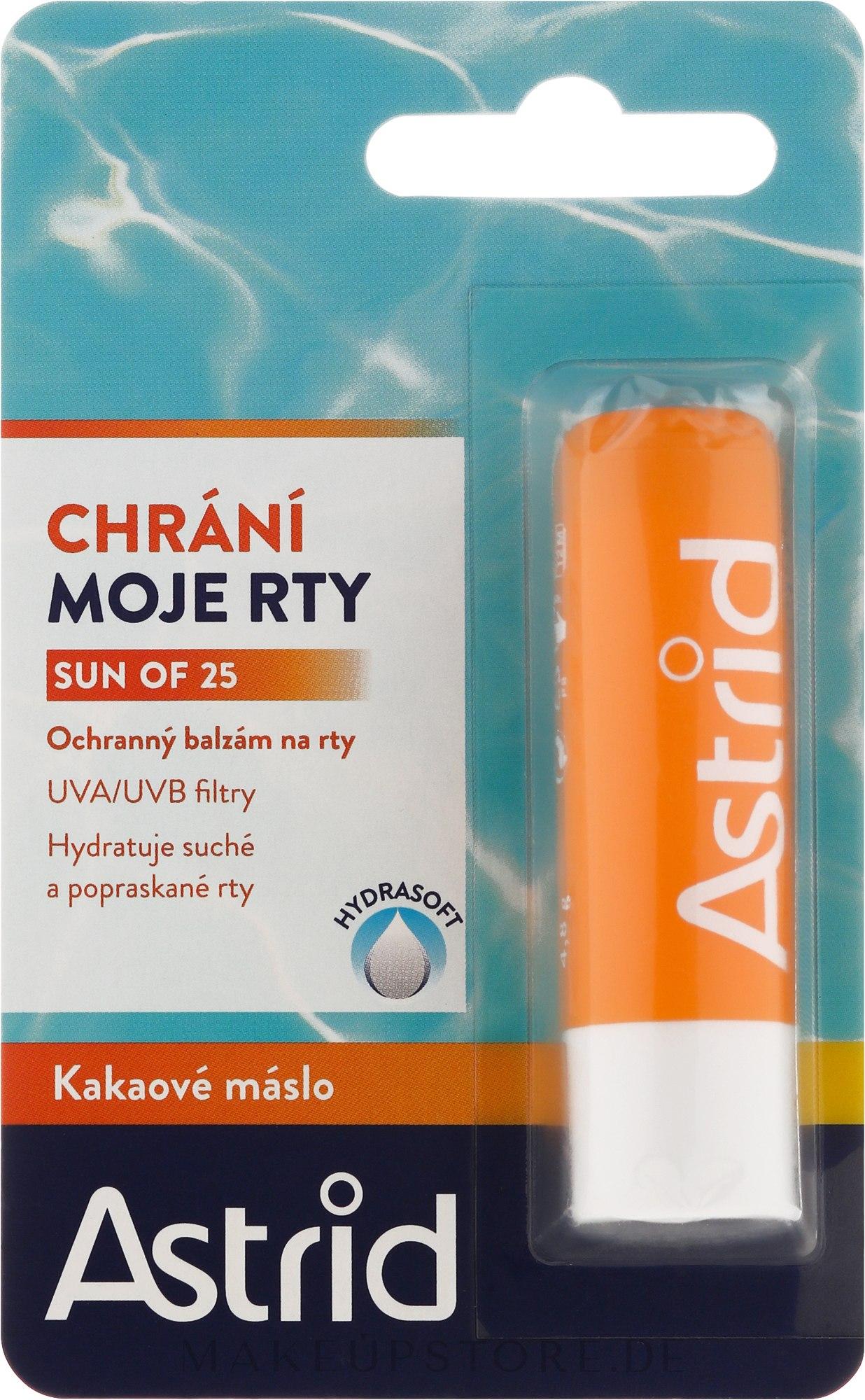 Lippenbalsam - Astrid Protective Lip Balm Spf 25 — Bild 4.8 g