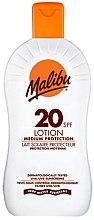 Düfte, Parfümerie und Kosmetik Sonnenschutz Lotion SPF 20 - Malibu Lotion Medium Protection