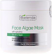 Algen-Gesichtsmaske mit Spirulina - Bielenda Professional Algae Spirulina Face Mask — Bild N1