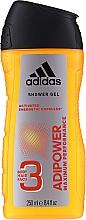 Körperpflegeset - Adidas Adipower Men (Antiperspirant Deospray 150ml + Duschgel 250ml) — Bild N3