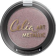 Düfte, Parfümerie und Kosmetik Lidschatten - Celia Art Metallic Eye Shadow