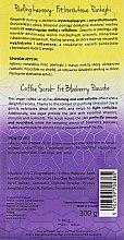 """Kaffee-Peeling für den Körper """"Blaubeerpfannkuchen"""" - Nacomi Fit Lovers Coffee Scrub — Bild N4"""