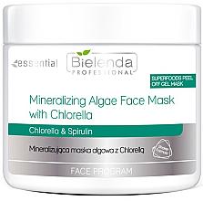 Düfte, Parfümerie und Kosmetik Mineralisierende Algen-Gesichtsmaske mit Chrollera - Bielenda Professional Face Program Mineralizing Algae Face Mask With Chrollera