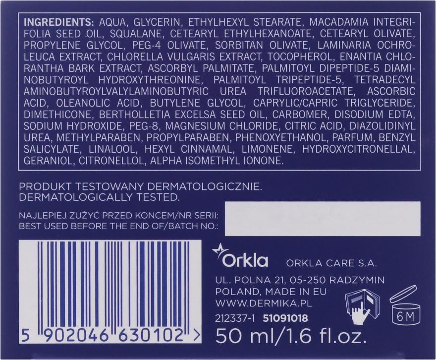Stärkende Anti-Falten Gesichtscreme für Tag und Nacht 50+ - Dermika Neocollagen Cream +50 — Bild N3
