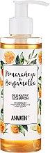 """Düfte, Parfümerie und Kosmetik Sanftes Shampoo für normale und fettige Kopfhaut """"Orange und Bergamotte"""" - Anwen Orange and Bergamot Shampoo"""