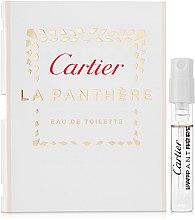 Düfte, Parfümerie und Kosmetik Cartier La Panthere Eau de Toilette - Eau de Toilette (Probe)