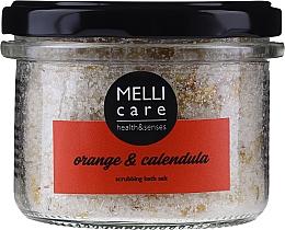 Düfte, Parfümerie und Kosmetik Badesalz Orange & Calendula - Melli Care Orange & Calendula Scrubbing Bath Salt