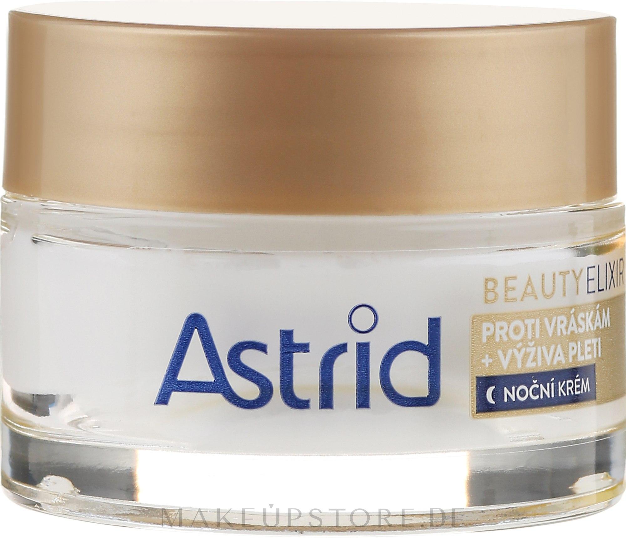 Feuchtigkeitsspendende Anti-Falten Nachtcreme - Astrid Moisturizing Anti-Wrinkle Day Night Cream — Bild 50 ml