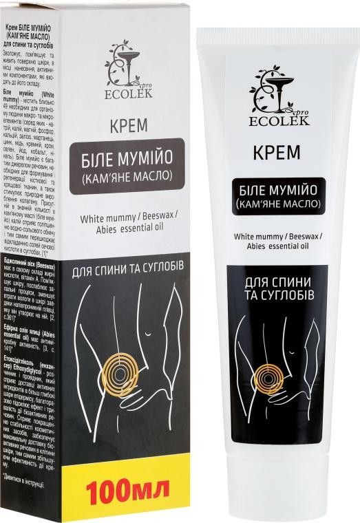 Regenerierende Körpercreme mit Kalium, Bienenwachs und äterischem Öl - Ekolek — Bild N1