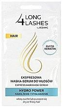 Düfte, Parfümerie und Kosmetik Feuchtigkeitsspendendes Haarmaske-Serum - AA Cosmetics Long 4 Lashes Hydro Power