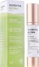 Düfte, Parfümerie und Kosmetik Anti-Aging Creme für Hals, Dekolleté und Gesichtskonturen - SesDerma Laboratories FactorG Renew Oval face & Neck