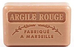 Düfte, Parfümerie und Kosmetik Handgemachte Naturseife Argile Rouge - Foufour Savonnette Marseillaise Argile Rouge