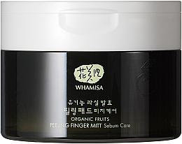 Düfte, Parfümerie und Kosmetik Gesichtsreinigungspads mit Bio-Fruchtextrakten - Whamisa Organic Fruits Peeling Finger Mitt Sebum Care