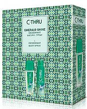 Düfte, Parfümerie und Kosmetik C-Thru Emerald Shine - Duftset (Deodorant/150ml + Körperspray/75ml)