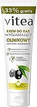 Düfte, Parfümerie und Kosmetik Glättende Handcreme mit Olivenöl - Vitea Moisturizing Hand Cream Olive Oil