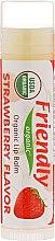 """Düfte, Parfümerie und Kosmetik Bio-Lippenbalsam """"Erdbeere"""" - Friendly Organic Lip Balm Strawberry"""