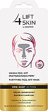 Düfte, Parfümerie und Kosmetik Peel-Off Gesichtsmaske mit Bambuskohle - AA Cosmetics Lift 4 Skin Maska Peel-Off
