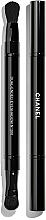 Düfte, Parfümerie und Kosmetik Doppelseitiger Lidschattenpinsel - Chanel Retractable Dual-Ended Eyeshadow Brush №200