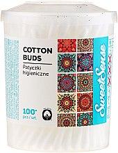 Wattestäbchen im Box SweetSense 100 St. - Cleanic Face Care — Bild N2