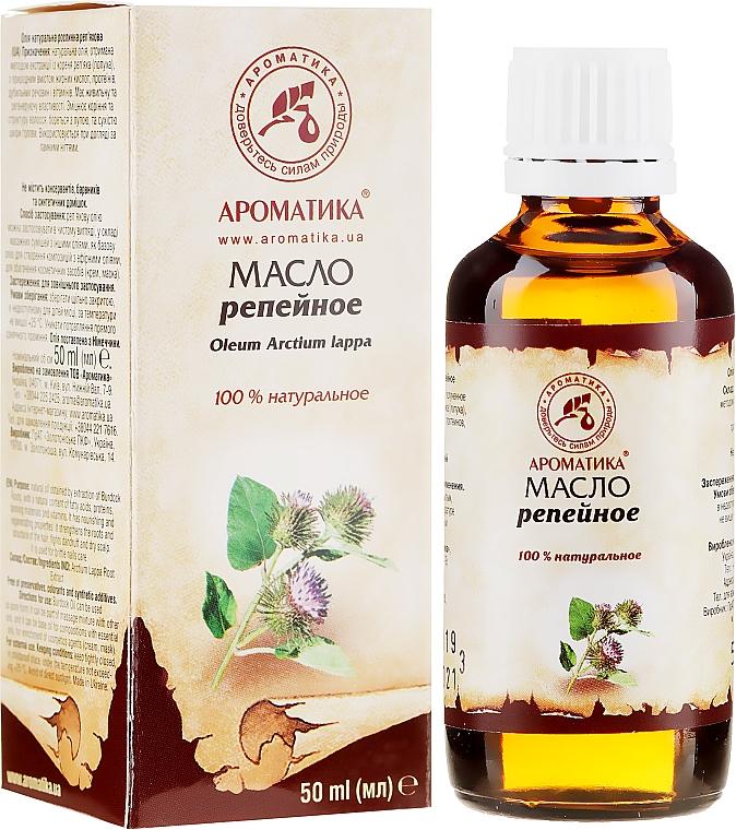 Natürliches Klettenöl - Aromatika — Bild N1