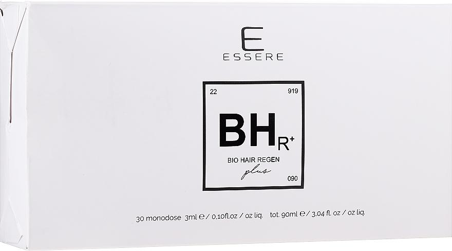 Regenerierende und stärkende Haarampullen für schwaches und strapaziertes Haar 30 St. - Essere Bio Hair Regen — Bild N1