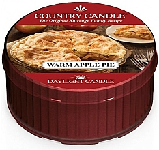 Düfte, Parfümerie und Kosmetik Duftkerze Warm Apple Pie - Country Candle Warm Apple Pie Daylight