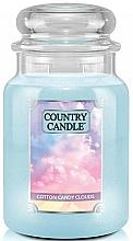 Düfte, Parfümerie und Kosmetik Duftkerze im Glas Cotton Candy Clouds - Country Candle Cotton Candy Clouds