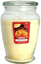 Düfte, Parfümerie und Kosmetik Duftkerze im Glas Creme Brulee - Airpure Creme Brulee Scented Candle