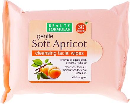 Reinigungstücher für Gesicht - Beauty Formulas Gentle Soft Apricot Cleansing Facial Wipes — Bild N1