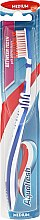 Düfte, Parfümerie und Kosmetik Zahnbürste mittel Between Teeth dunkelblau-weiß - Aquafresh Between Teeth Medium