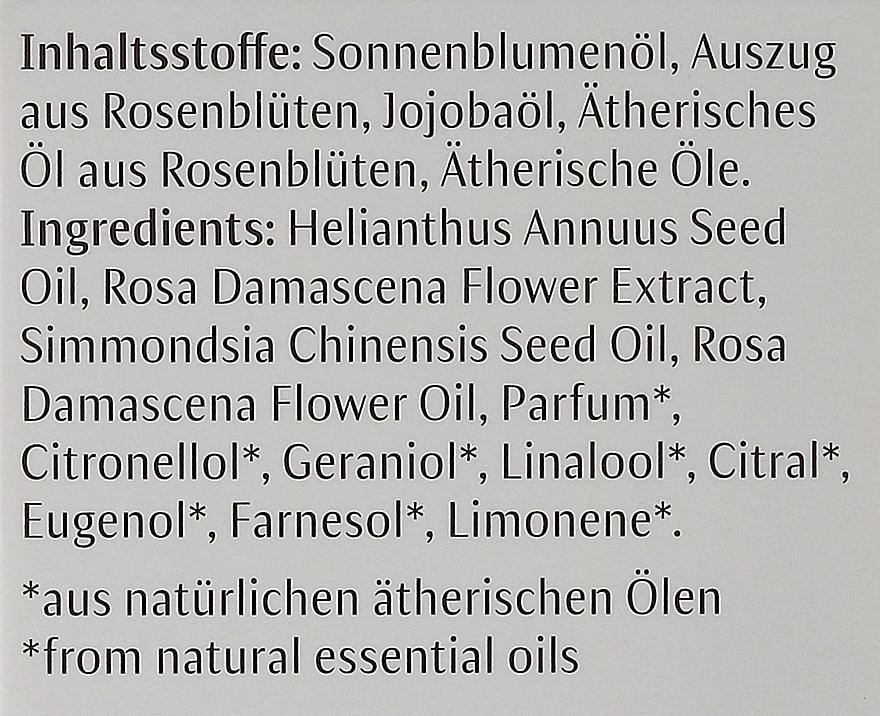 Pflegendes Rosenöl für den Körper - Dr. Hauschka Rose Nurturing Body Oil — Bild N4