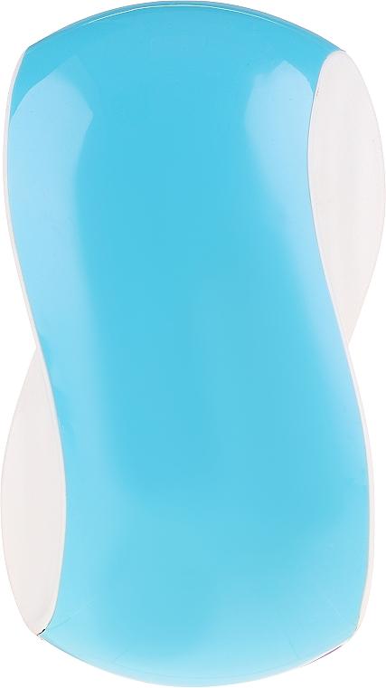 Entwirrbürste blau-rosa - Twish Spiky 1 Hair Brush Sky Blue & White — Bild N1