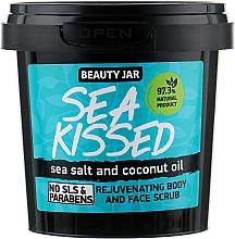 Düfte, Parfümerie und Kosmetik Regenerierendes Gesichts- und Körperpeeling mit Meersalz und Kokosnussöl - Beauty Jar Rejuvenating Body And Face Scrub