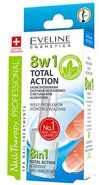 Konzentrierter Nagelhärter mit Quartz - Eveline Cosmetics Nail Therapy Professional Sensitive — Bild N5