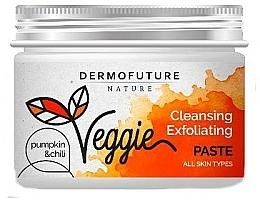 Düfte, Parfümerie und Kosmetik Reinigende und exfolierende Gesichtspaste mit Kürbis und Chili - DermoFuture Nature Veggie Pasta