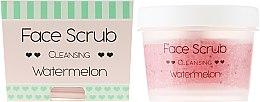 Düfte, Parfümerie und Kosmetik Reinigendes Gesichts- und Lippenpeeling mit Wassermelone - Nacomi Moisturizing Face & Lip Scrub Watermelon