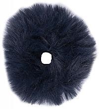 Düfte, Parfümerie und Kosmetik Haargummi mit Kunstfell 22876 blau - Top Choice Mono