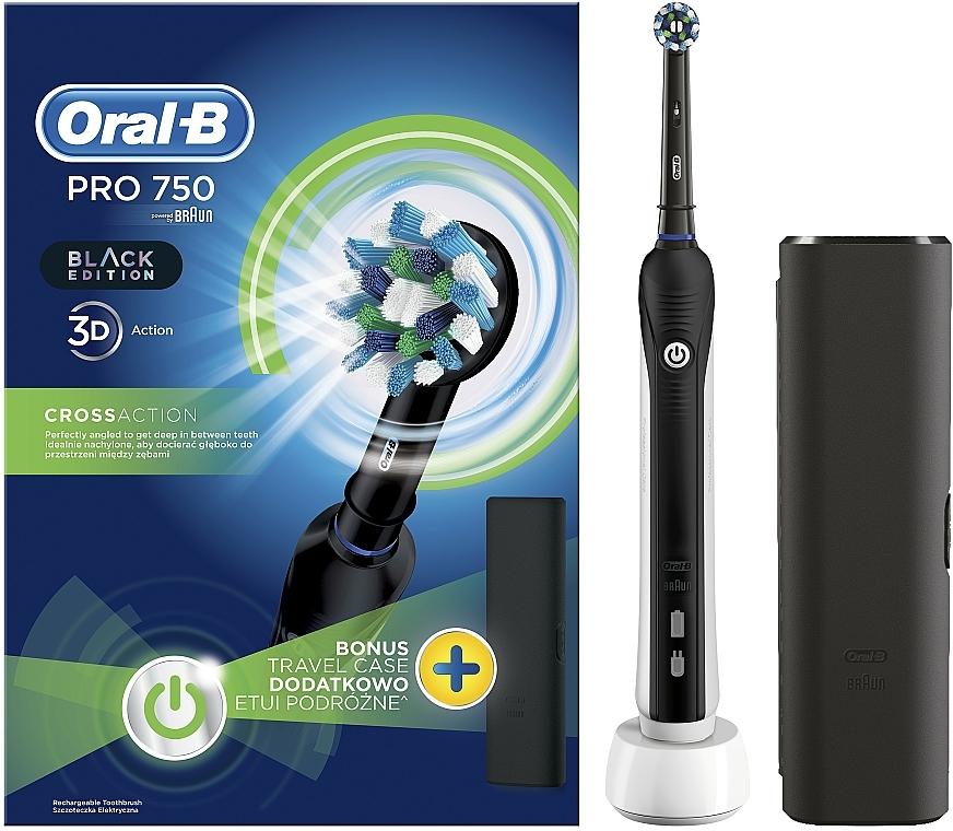Elektrische Zahnbürste Pro 2 2500 Black Edition - Oral-B Pro 2 2500 Black Edition — Bild N1