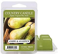 Düfte, Parfümerie und Kosmetik Tart-Duftwachs Anjou & Allspice - Country Candle Anjou & Allspice Wax Melts