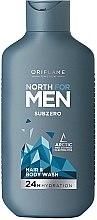 Düfte, Parfümerie und Kosmetik Haar- und Körpershampoo - Oriflame North For Men Subzero